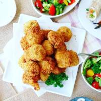 Sweet Potato and Mushroom Croquettes