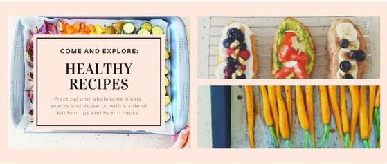 Healthy recipe banner_with rainbow tray